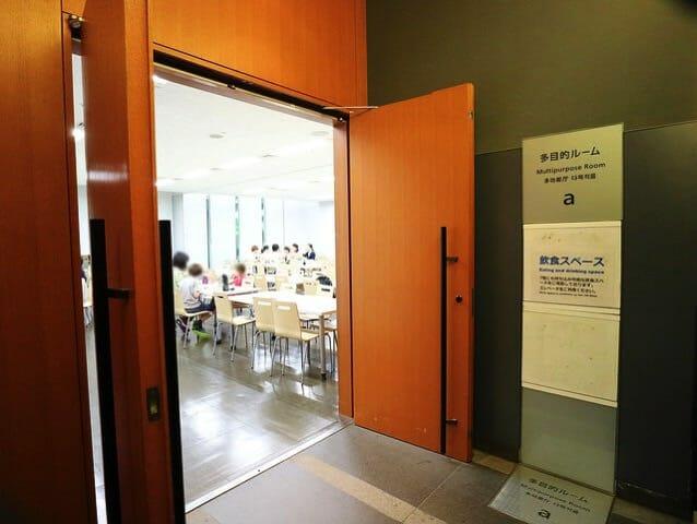 日本科学未来館 1階飲食スペース