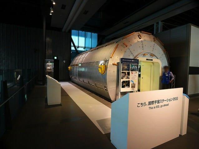 日本科学未来館 5階国際宇宙ステーション全景