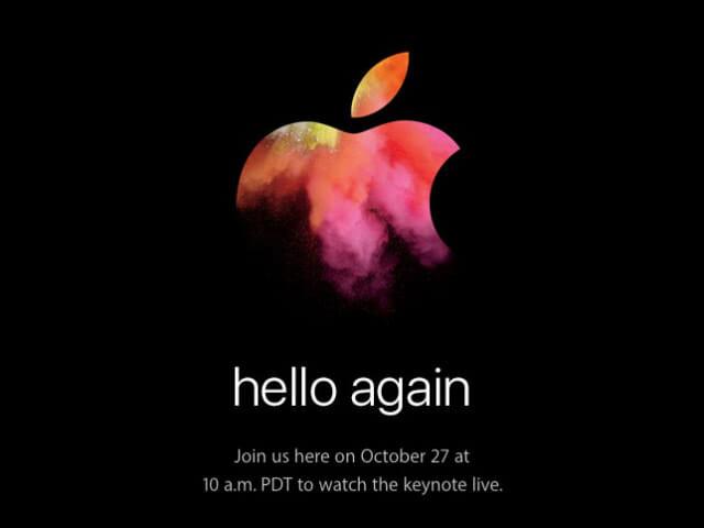 待望のMacBookPro 2016年10月Appleスペシャルイベントまとめ