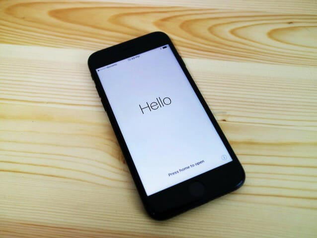 iPhone6とiPhone7の形状の違い