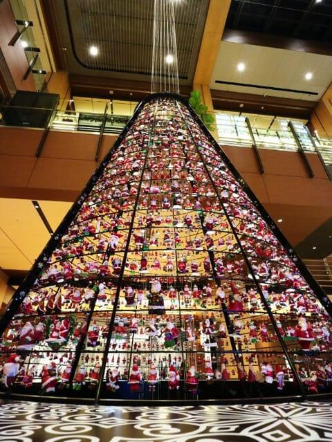 東京ミッドタウン クリスマス2016イルミネーション 7 2サンタツリー