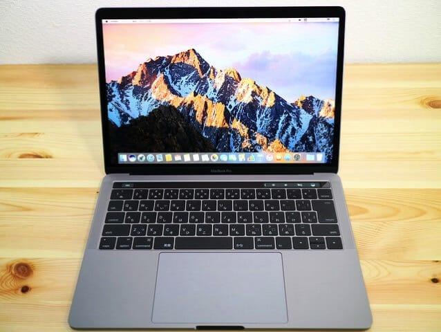MacBookProLate2016 起動後