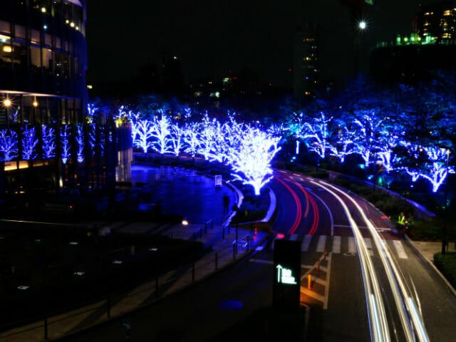 東京ミッドタウン クリスマス2016イルミネーション 5 2スターライトロード