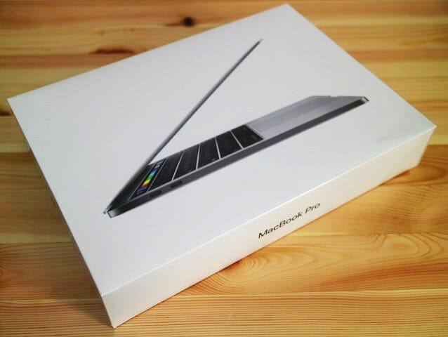 MacBookProLate2016 パッケージ表面