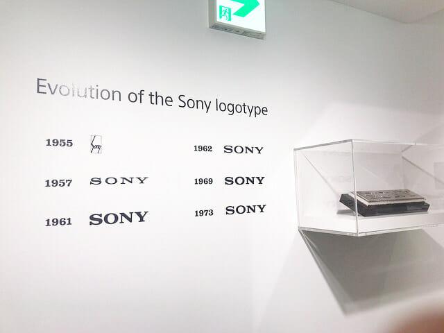 ソニービルIt s a Sony展SONYロゴ