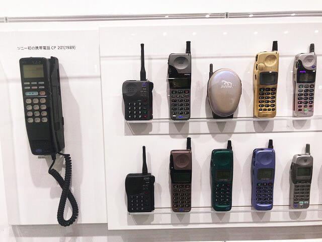 ソニービルIt s a Sony展初代携帯電話