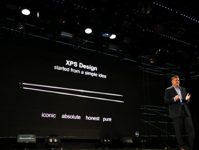 Dell新製品発表会2017 マイケル エリス スミスXPSデザイン