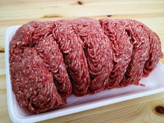 コストコで巨大な合挽肉を買ってみた