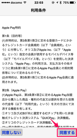 ApplePay消える 11VISAカード利用条件