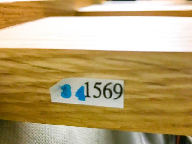 無印良品ハイベッド製造ロット番号