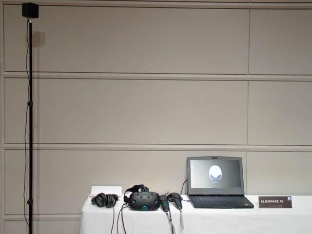 DellVRゲーミング体験会 HTC VIVEセット