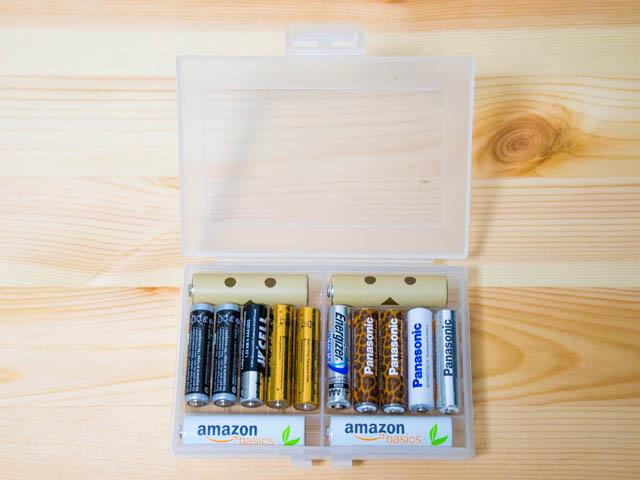 電池ケース 単三4本単四10本