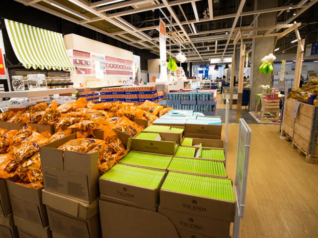 IKEA スエーデンフードマーケット