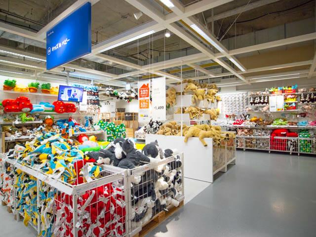 IKEA ショールーム キッズ ベイビー