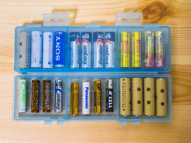 電池ケース 大容量タイプ