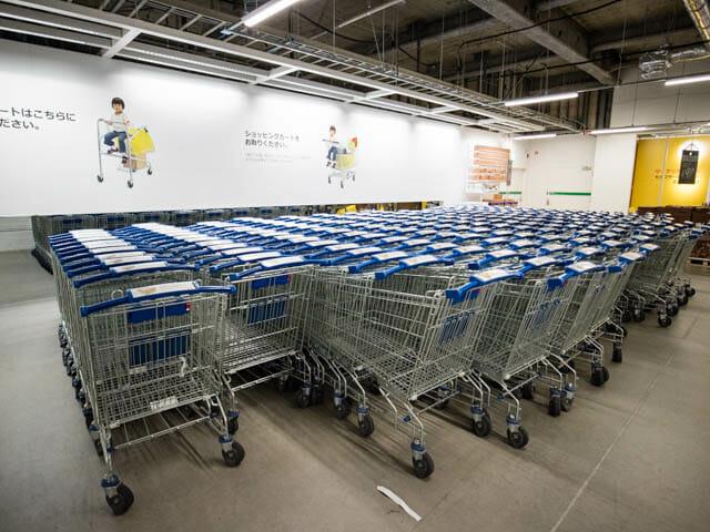 IKEA ショッピングカート