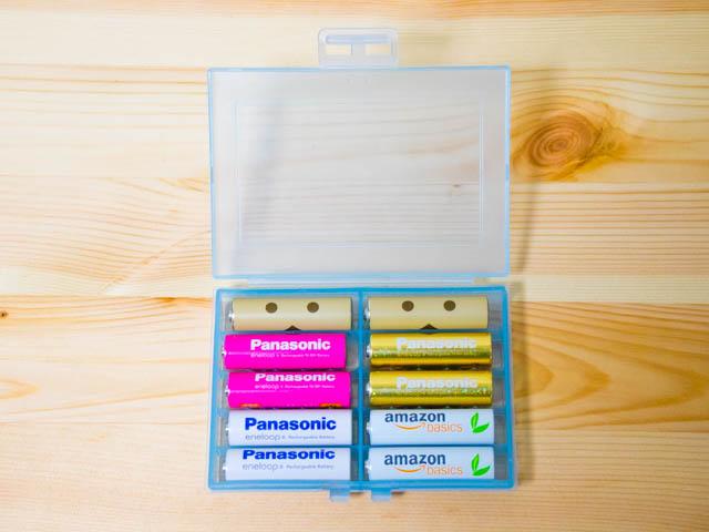 電池ケース 単三10本