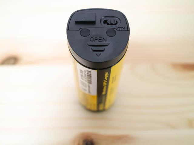 HOLUX m 241 USBminiコネクタ保護キャップ取付