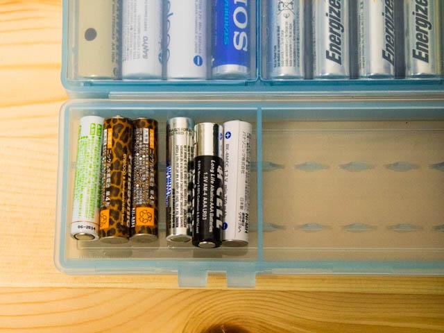 電池ケース 大容量タイプ単四6個