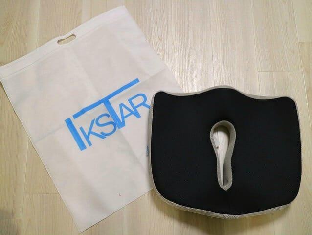 IKSTAR第三世代ヘルスケア座布団 同梱物