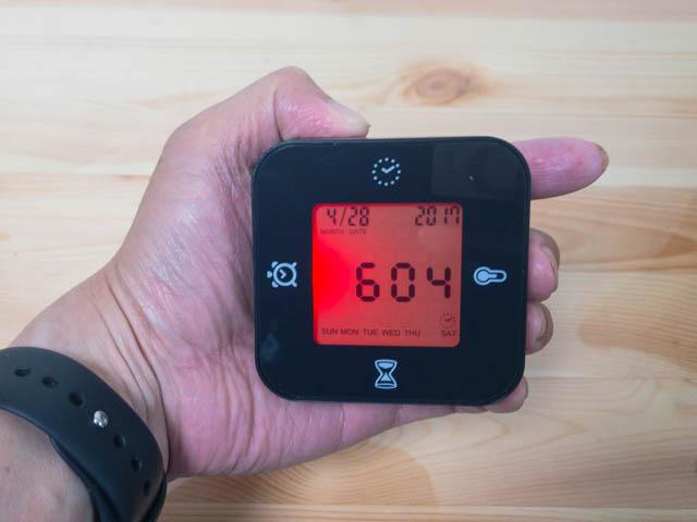 イケアの回転させて使う多機能時計ロットルプはかわいくて激安