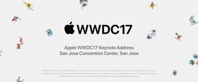 2017年6月 WWDC17 は新しいハードが発表され華やかだった