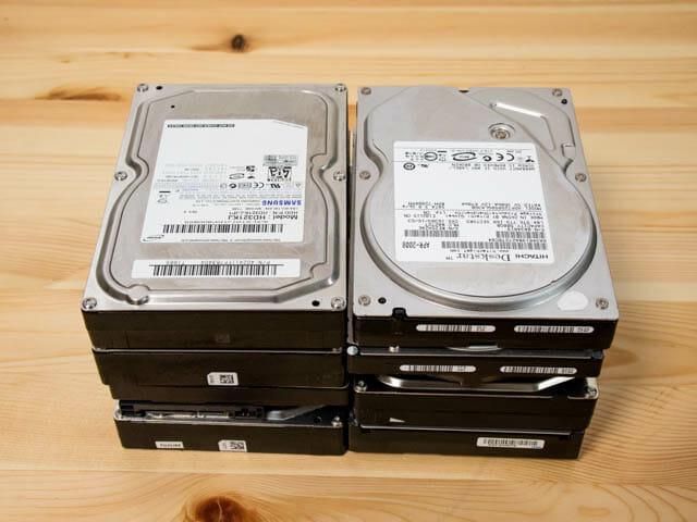 ガチャベイ 古い外付けHDD内蔵HDD