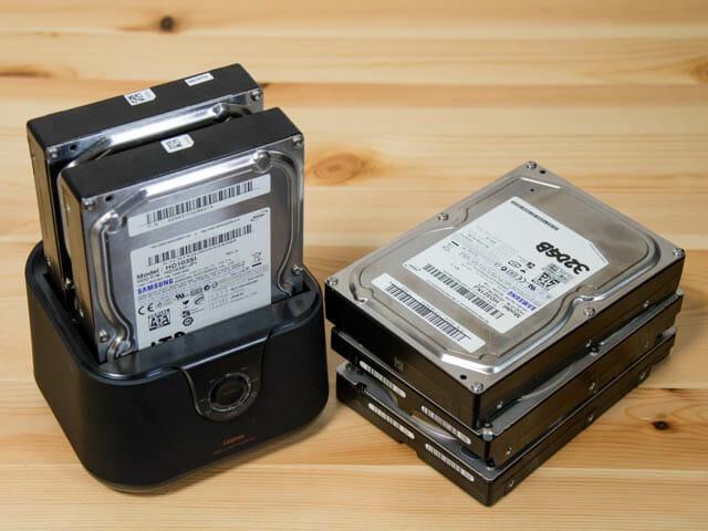 HDDをまるごと複製できるハードディスク デュプリケーターの使いみち