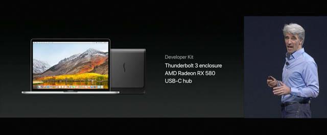 WWDC17 9 macOS 外部GPU