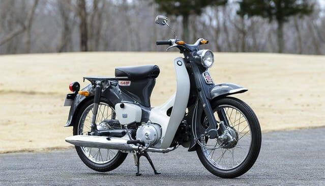 1964年カブCM90