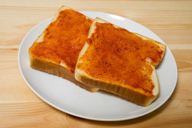 トマトパスタ トースト