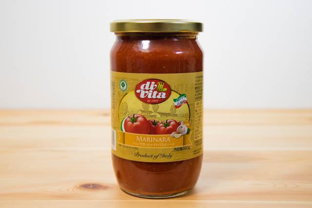 業務スーパーのトリノで作ったトマトパスタソースは保存もきくし1食分33円とコスパ最強
