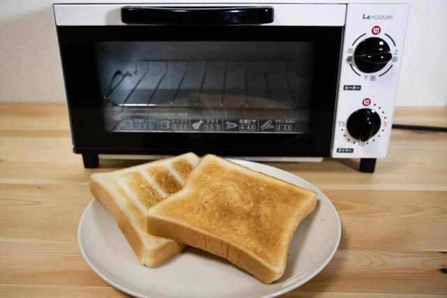 オーブントースター部門でAmazonベストセラー1位のコイズミ オーブントースターを使ってみた