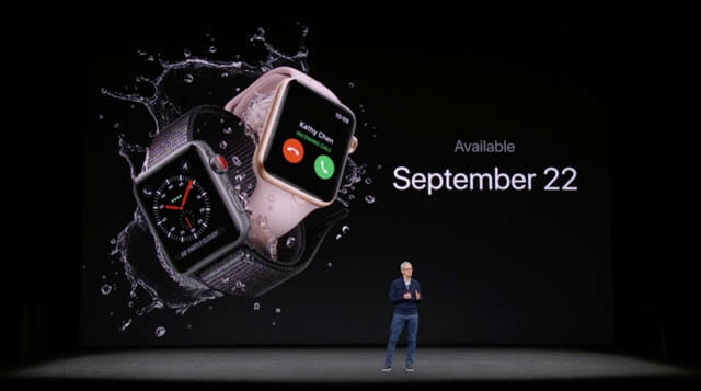 AppleSpecialEvent201709 AppleWatch発売日