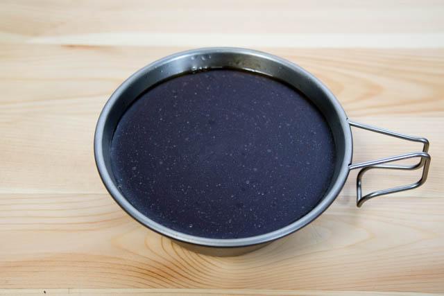 メスティン炊き込みごはん お米出汁完成
