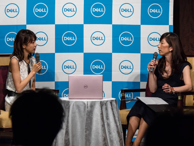 DELL新製品発表会20170929 加藤綾子対談ショー