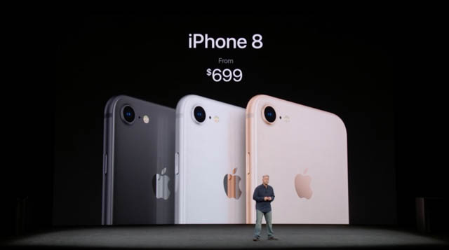 AppleSpecialEvent201709 iPhone8価格