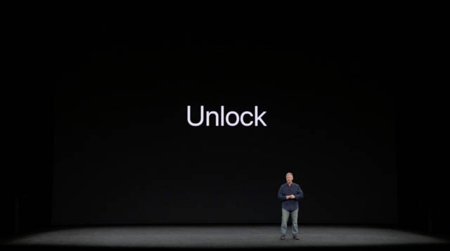 AppleSpecialEvent201709 iPhoneXUnlock
