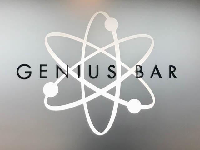 iPhone7のディスプレイに謎の青いシミができたのでジーニアスバー(Benius Bar)で見てもらった