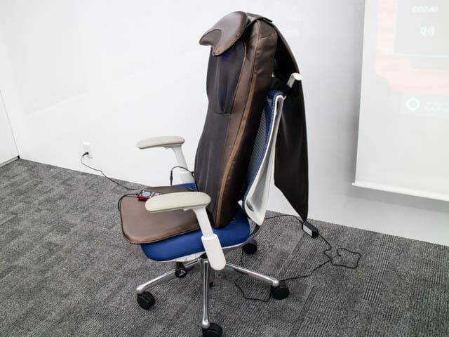 ドクターエア社の勉強会で3Dマッサージシートを試してみた