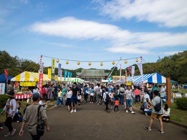 江戸東京たてもの園 お祭り