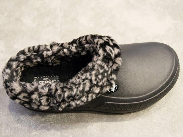 冬の部屋履きならクロックスのモコモコ付きのFuzz Collectionがオススメ