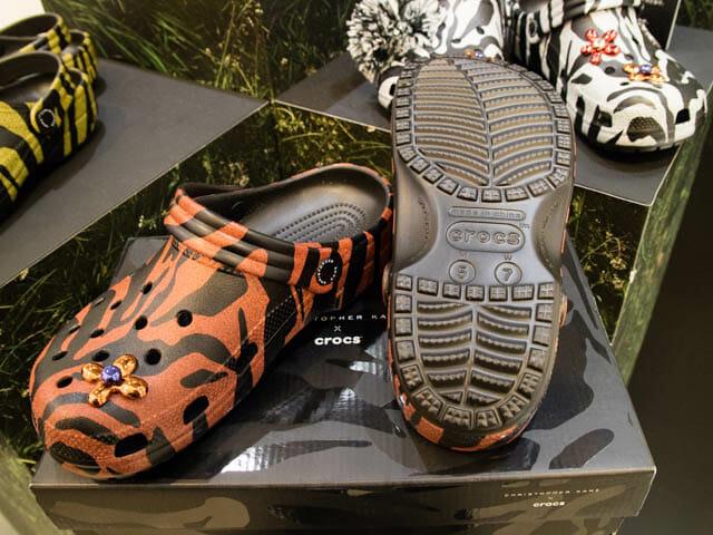 Crocs ChristopherKane 靴底