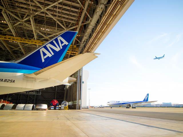機体工場見学 ANA 17