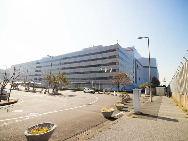 機体工場見学 JAL 3