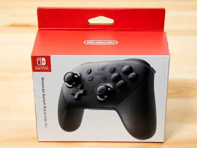 NintendoSwitch プロコン 保証書