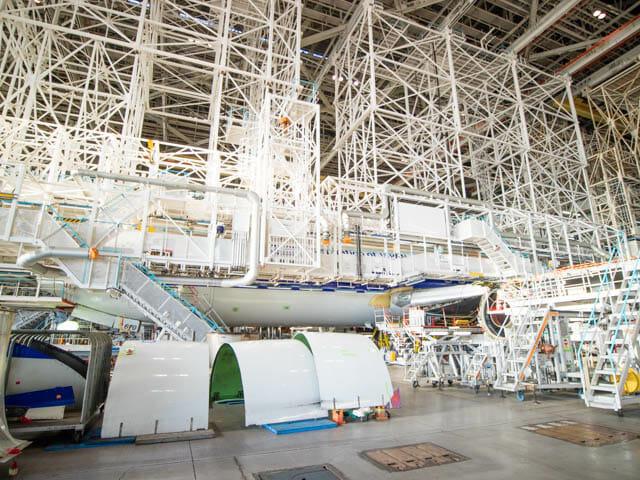 機体工場見学 ANA 14