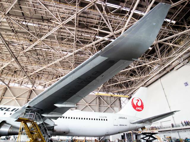 機体工場見学 JAL 30