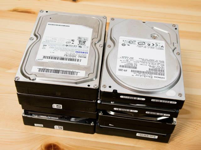 バックアップにコスパのよい内蔵ハードディスクが増え続けるので保管方法を考えた