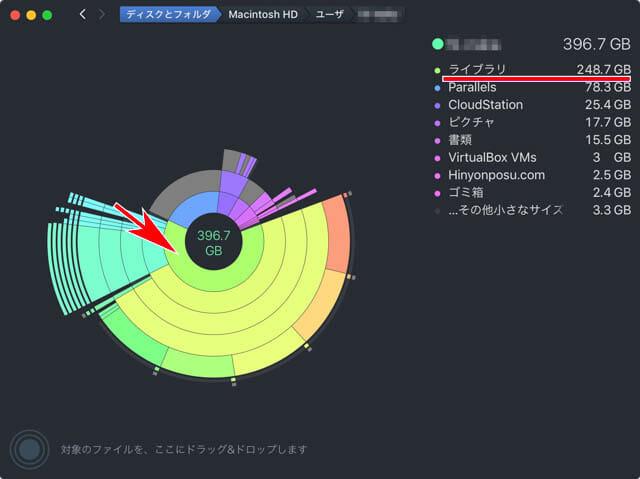 Mac空き容量を増やす DaisyDisk2